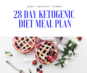 28 Day Ketogenic Diet Meal Plan