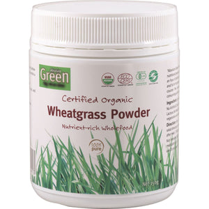 Absolute Green Certified Organic Wheatgrass Powder 150G
