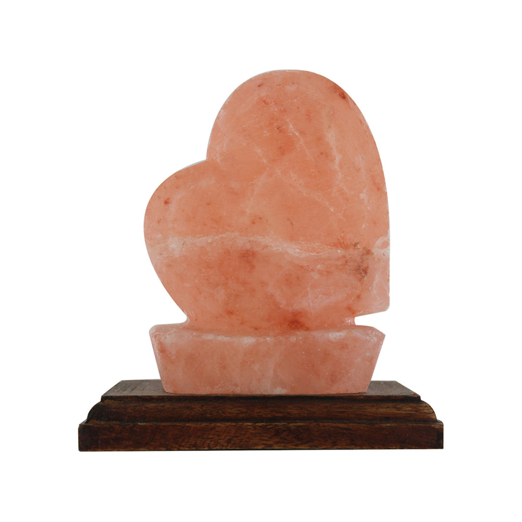 Alter Dist Salt Crystal Lamp Love Heart