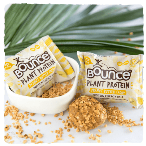 BOUNCE Planet Protein Energy Balls Peanut Butter Cacao 40g x 12 Display