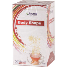 Blooms Body Shape X 20 Tea Bags*