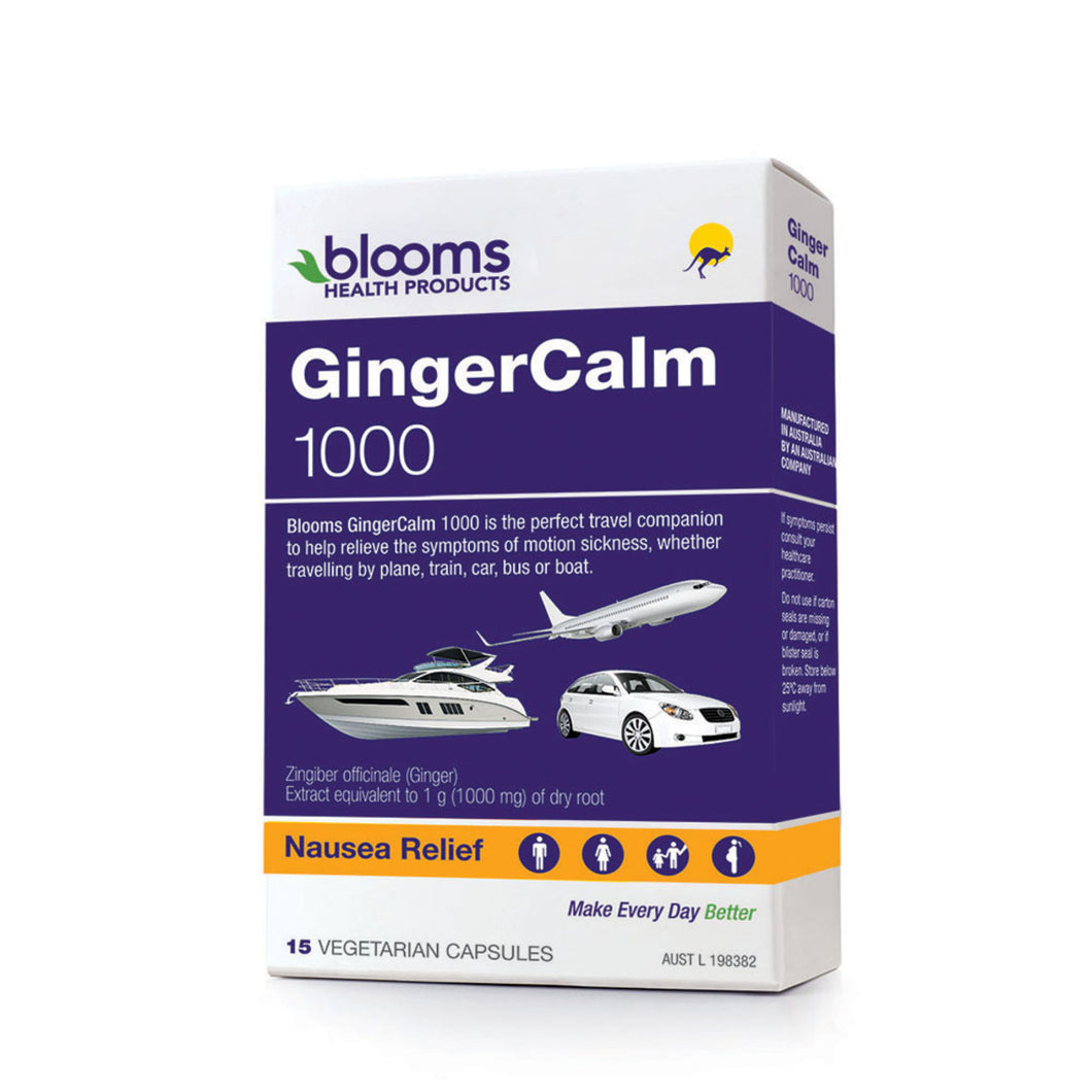 Blooms Gingercalm 1000 Travel Pack 15Vc