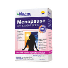 Blooms Menopause Day & Night Relief 60Vc
