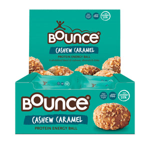 BOUNCE Energy Balls Cashew Caramel 40g x 12 Display