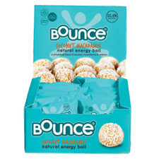 BOUNCE Energy Balls Coconut Macadamia Protein Bliss 40g x 12 Display