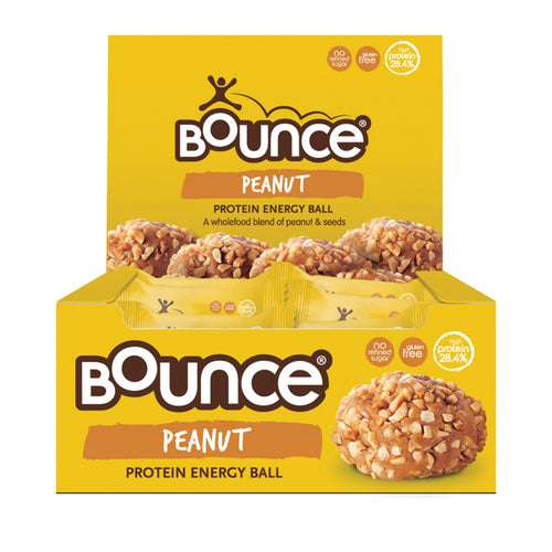 BOUNCE Energy Balls Peanut Protein Blast 49g x 12 Display