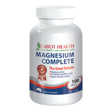 Cabot Health Magnesium Complete 100t