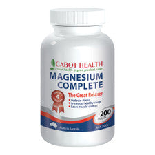 Cabot Health Magnesium Complete 200t