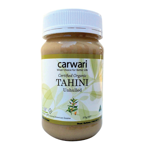 Planet Organic Tahini Unhulled 375g