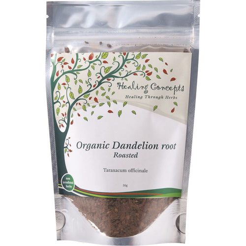 Healing Concepts Organic Dandelion Root Roasted Tea 50G