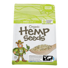 Hemp Foods Organic Hulled Hemp Seeds 250g