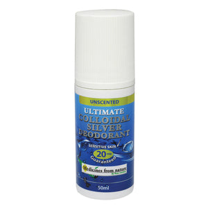 Ross Gardiner Ultimate Colloidal Silver 20ppm Deodorant 50ml