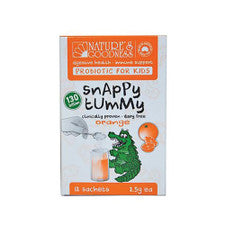 Nature's Goodness Snappy Tummy Probiotic For Kids Orange 2.5g  X 12 Sachets