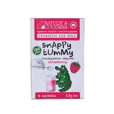 Nature's Goodness Snappy Tummy Probiotic For Kids Strawberry 2.5g  X 12 Sachets