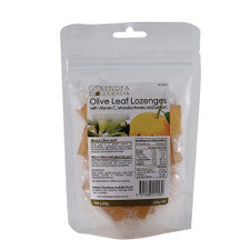 Nature's Goodness Olive Leaf Lozenges With Vitamin C, Manuka Honey & Lemon 200g