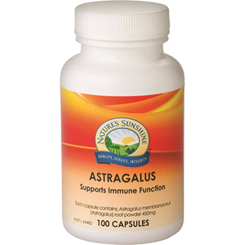 Nature's Sunshine Astragalus 450mg 100c