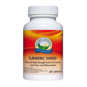 Nature's Sunshine New Turmeric 34000+ 30c