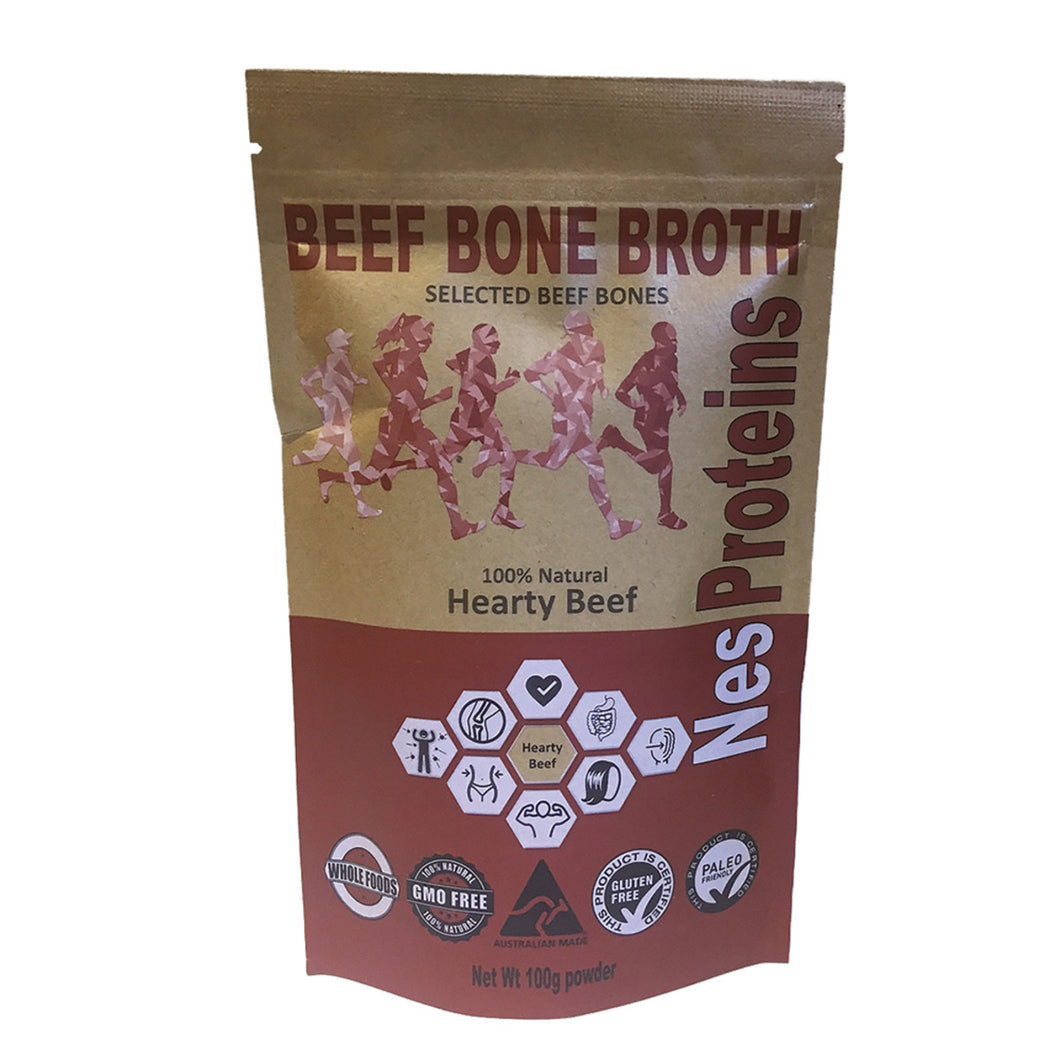 Nes Proteins Beef Bone Broth Hearty 100g