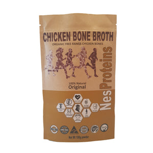 Nes Proteins Organic Chicken Bone Broth Original 100G