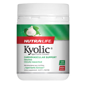 NutraLife Kyolic Aged Garlic Extract High Potency 120c