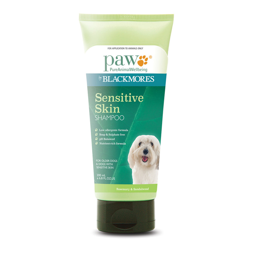Paw Sensitive Skin Shampoo (Rosemary & Sandalwood) 200ml