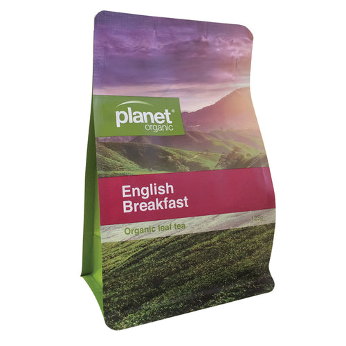 Planet Organic Tea English Breakfast 125g