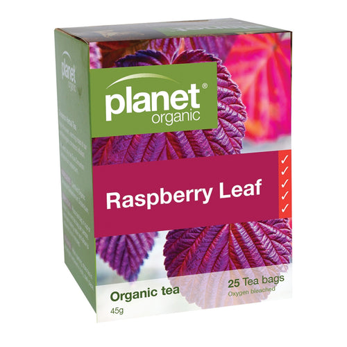 Planet Organic Raspberry Leaf 25 tea bags 25bags