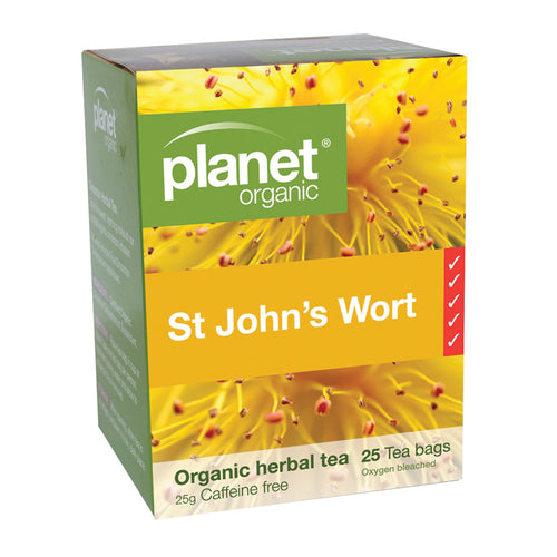 Planet Organic St Johns Wort 25s Tea Bags
