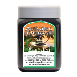 Pure Eden Activated Charcoal 70G