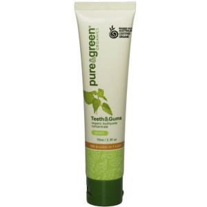 Pure & Green Teeth & Gums Toothpaste Mint 70g