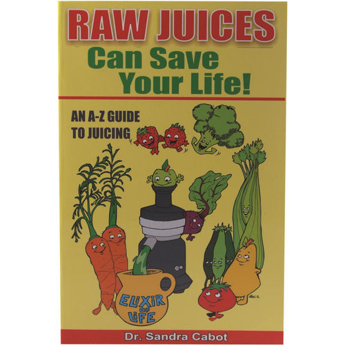 Raw Juices Can Save Your Life! By Dr Sandra Cabot