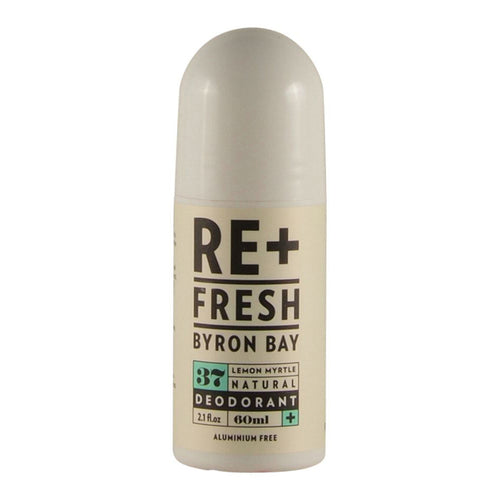Refresh Byron Bay Lemon Myrtle Natural Deodorant 60ml