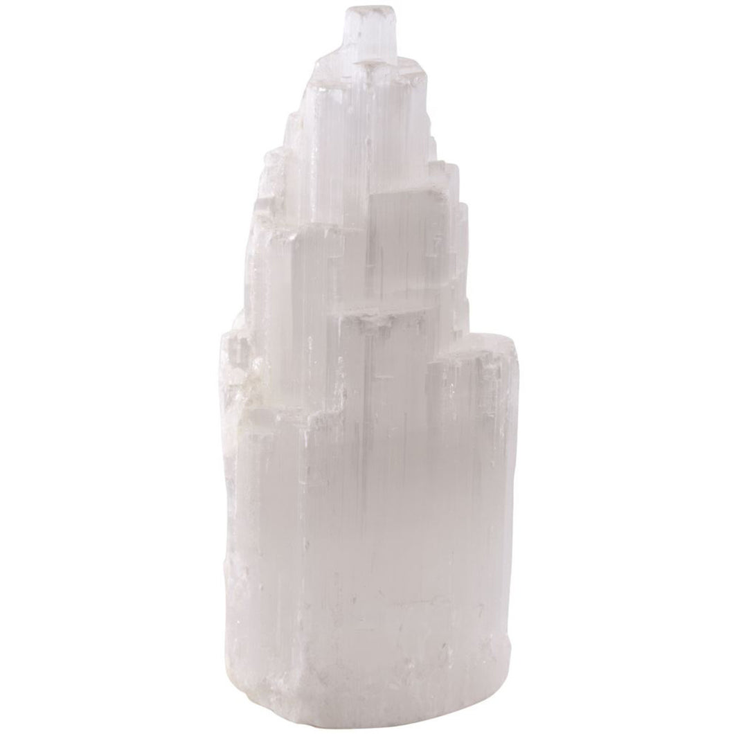 Linenco Selenite Lamp Small (15-20Cm)
