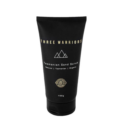 Three Warriors Tasmanian Sand Scrub 150g