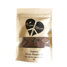 Vegan Made Delights Organic Cacao Macaroons 120g