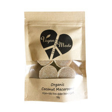 Vegan Made Delights Organic Coconut Macaroons 120g