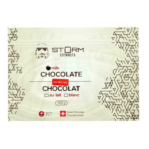 Chocolate Bars 500-1800mg THC - STORM Extracts