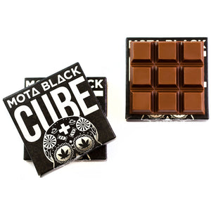 Black Milk Chocolate Cube - Mota