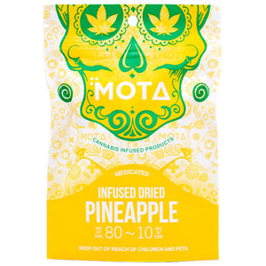 Dried Pineapple - Mota