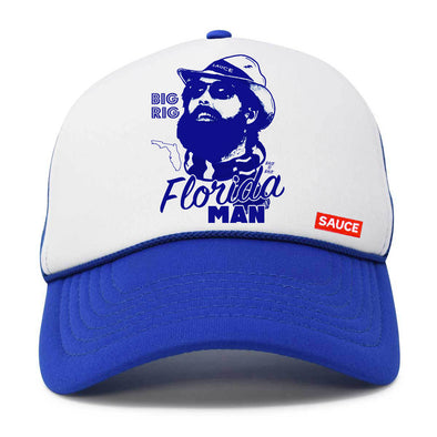 FLORIDA MAN (WHITE / ROYAL)