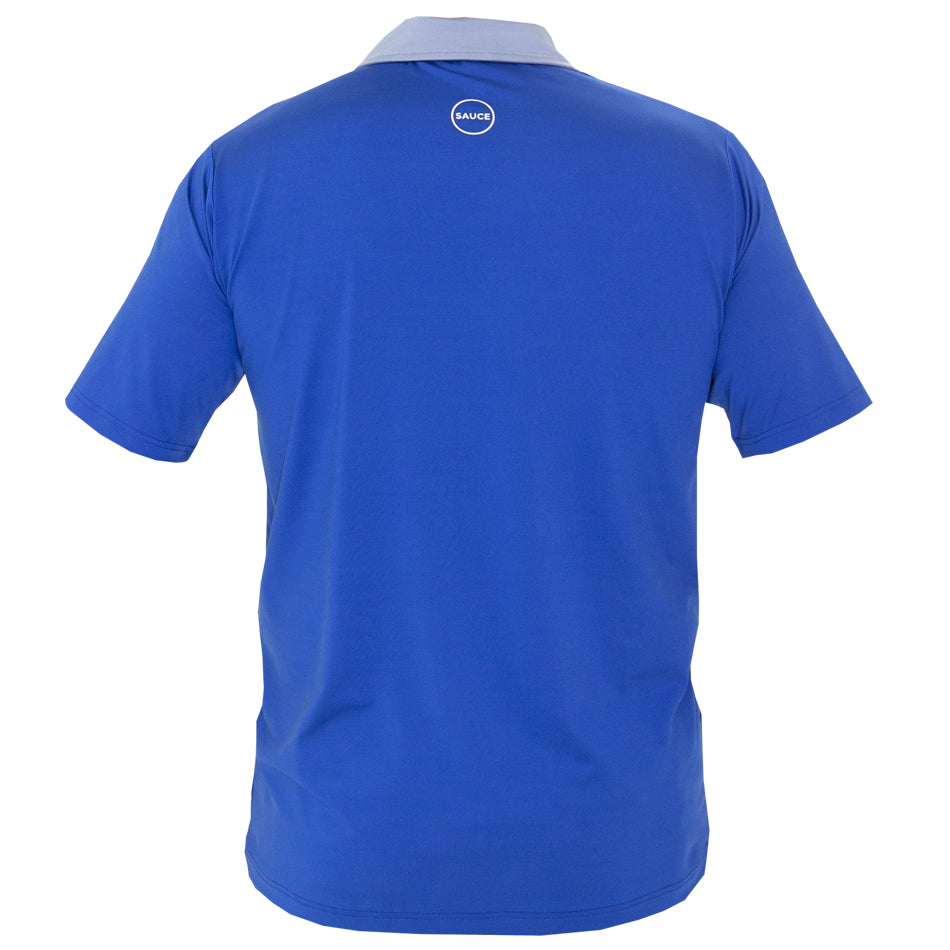 MN HOCKEY POLO (BLUE)