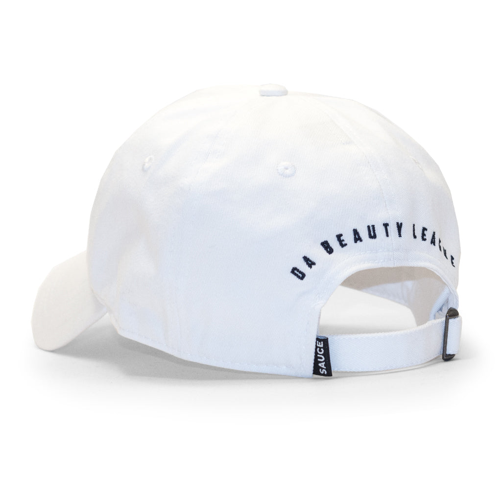DBL DAD HAT (WHITE)