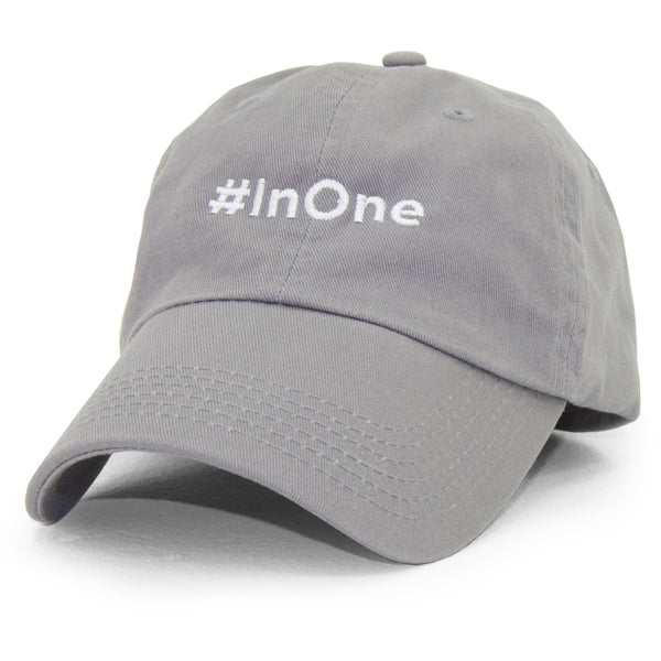 MIKE COMMODORE #InOne DAD HAT (GREY)