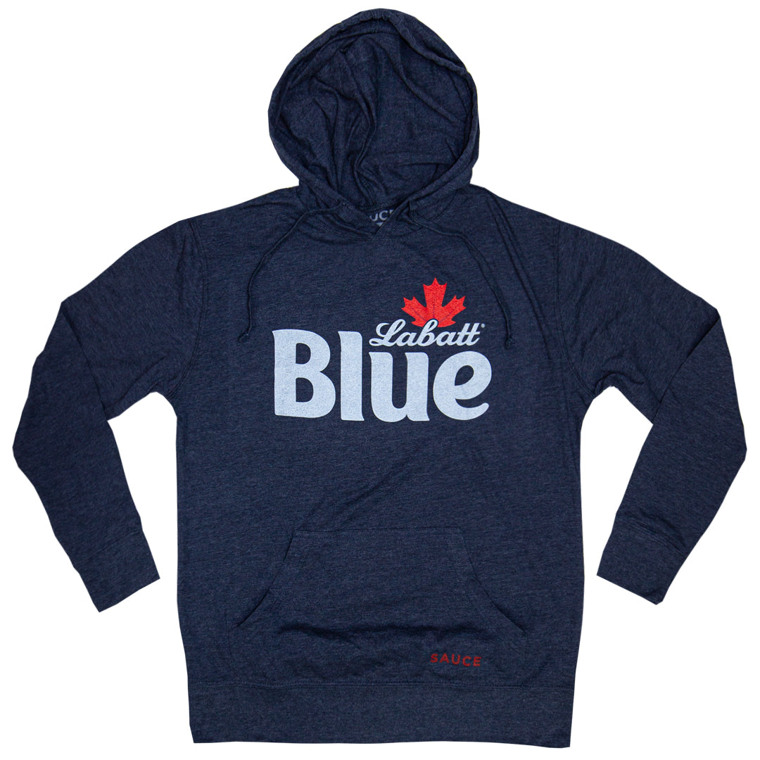 LABATT LIGHTWEIGHT HOODIE (HEATHER NAVY)