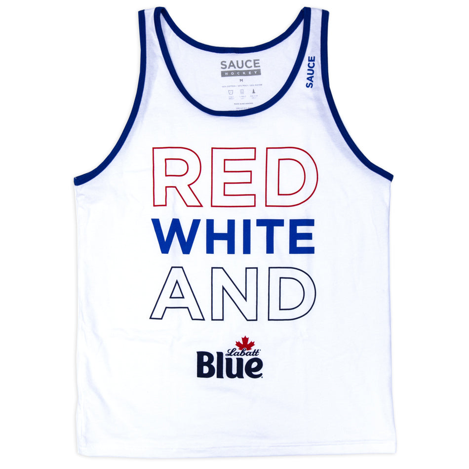 RED WHITE & BLUE (SLEEVE MONSTER)