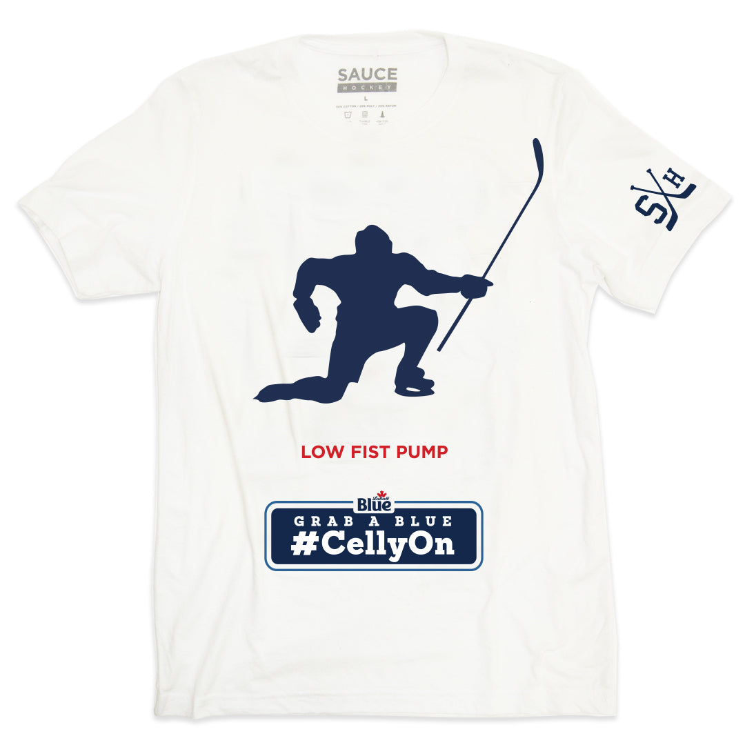 LOW FIST PUMP CELLY TEE (WHITE)