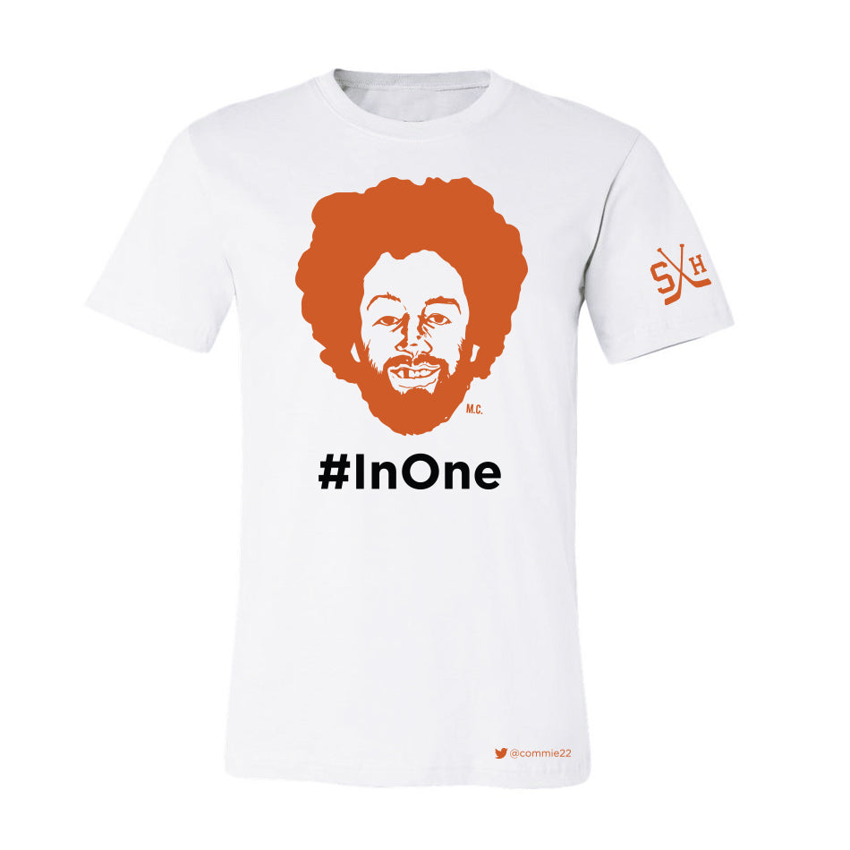 MIKE COMMODORE #InOne TEE (WHITE)