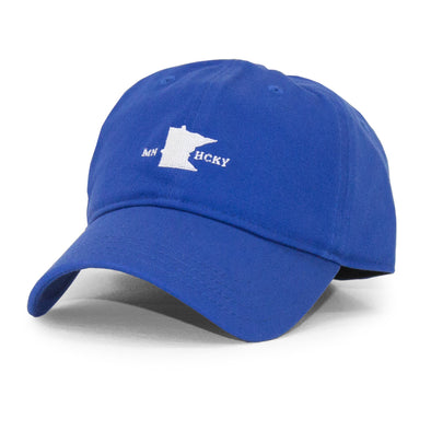 MN HOCKEY DAD HAT (BLUE)
