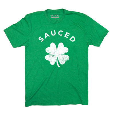 SAUCED ST. PADDYS TEE (GREEN)