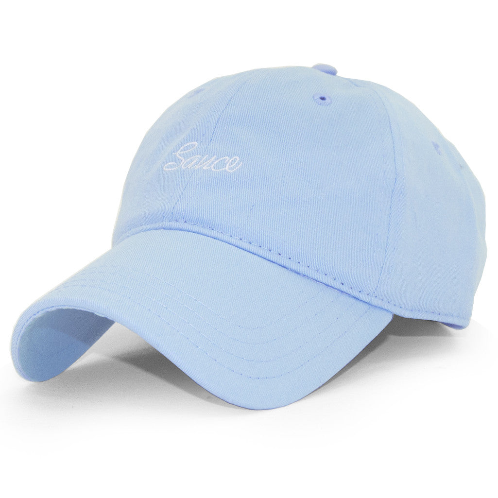 DAD CAP (PASTEL BLUE)